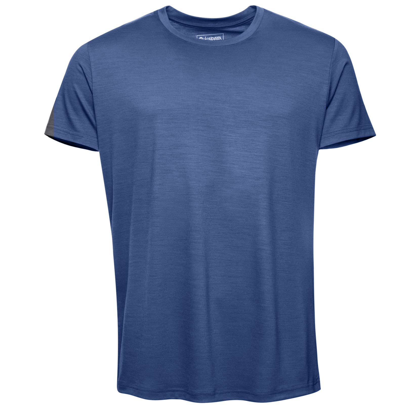 URBAN LIMITED Merino T-Shirt Herren Kurzarm Regular 200 Blue Melange L
