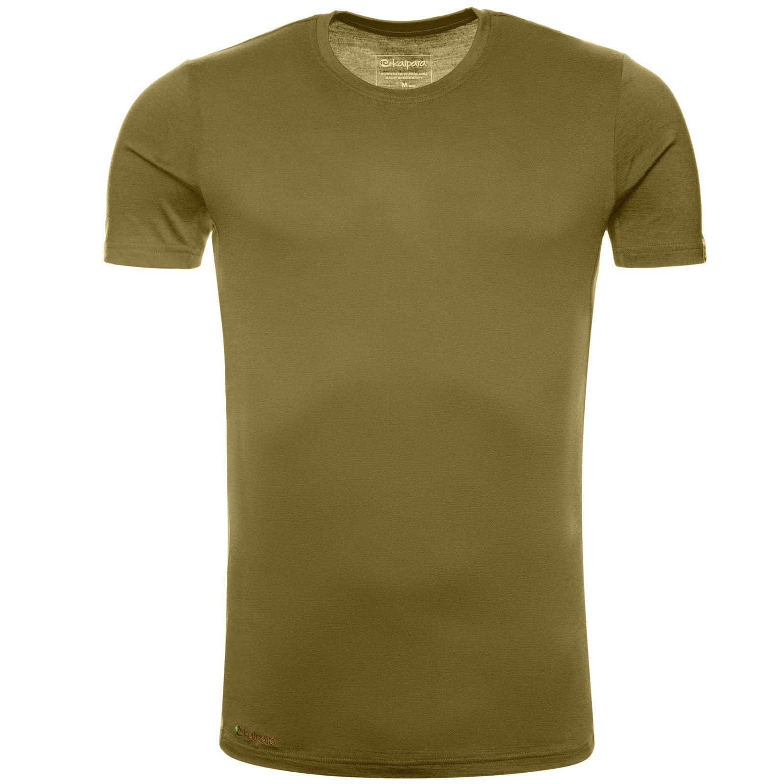 Merino Shirt Herren Kurzarm Slimfit 200