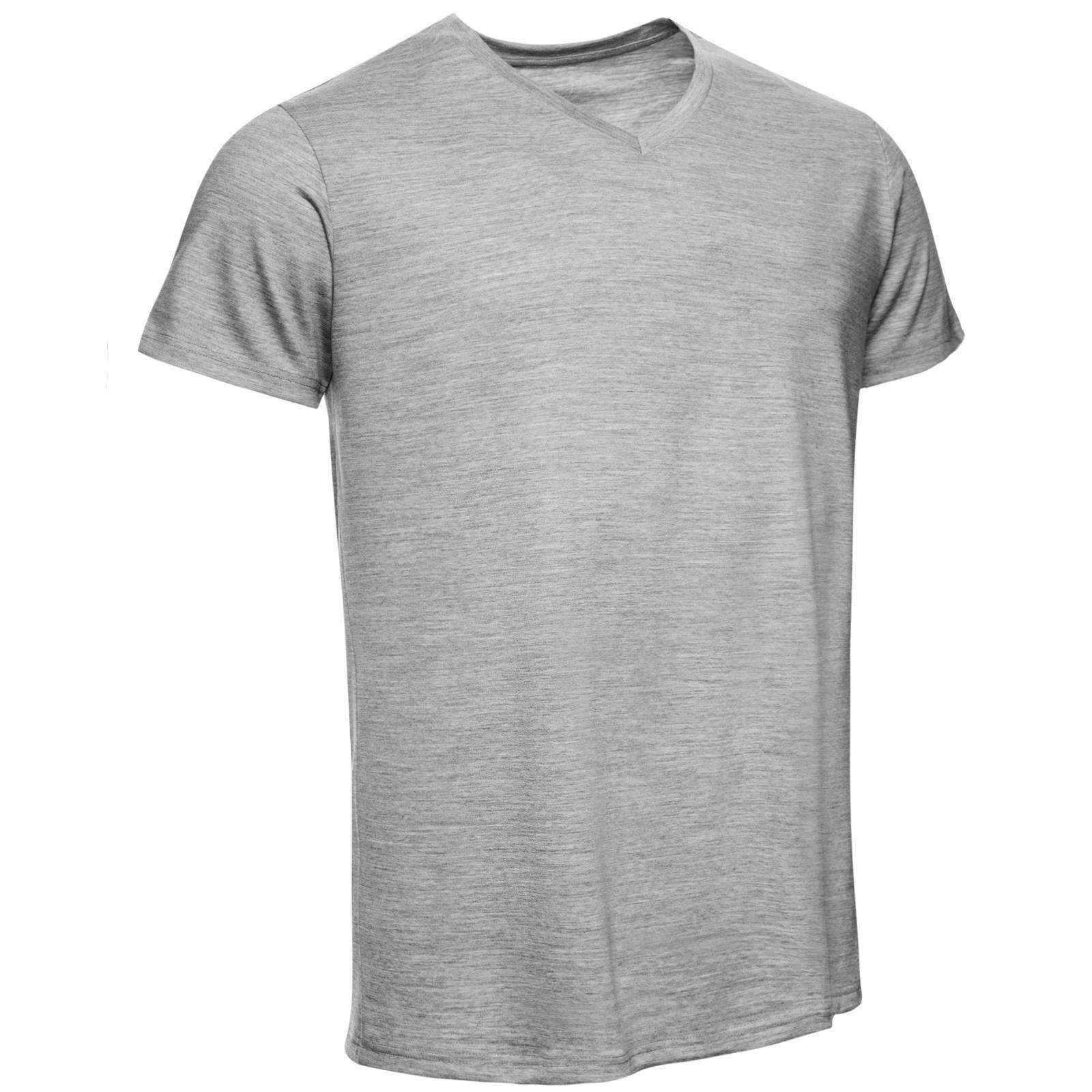 URBAN LIMITED Merino Shirt Herren Regular V-Neck 200