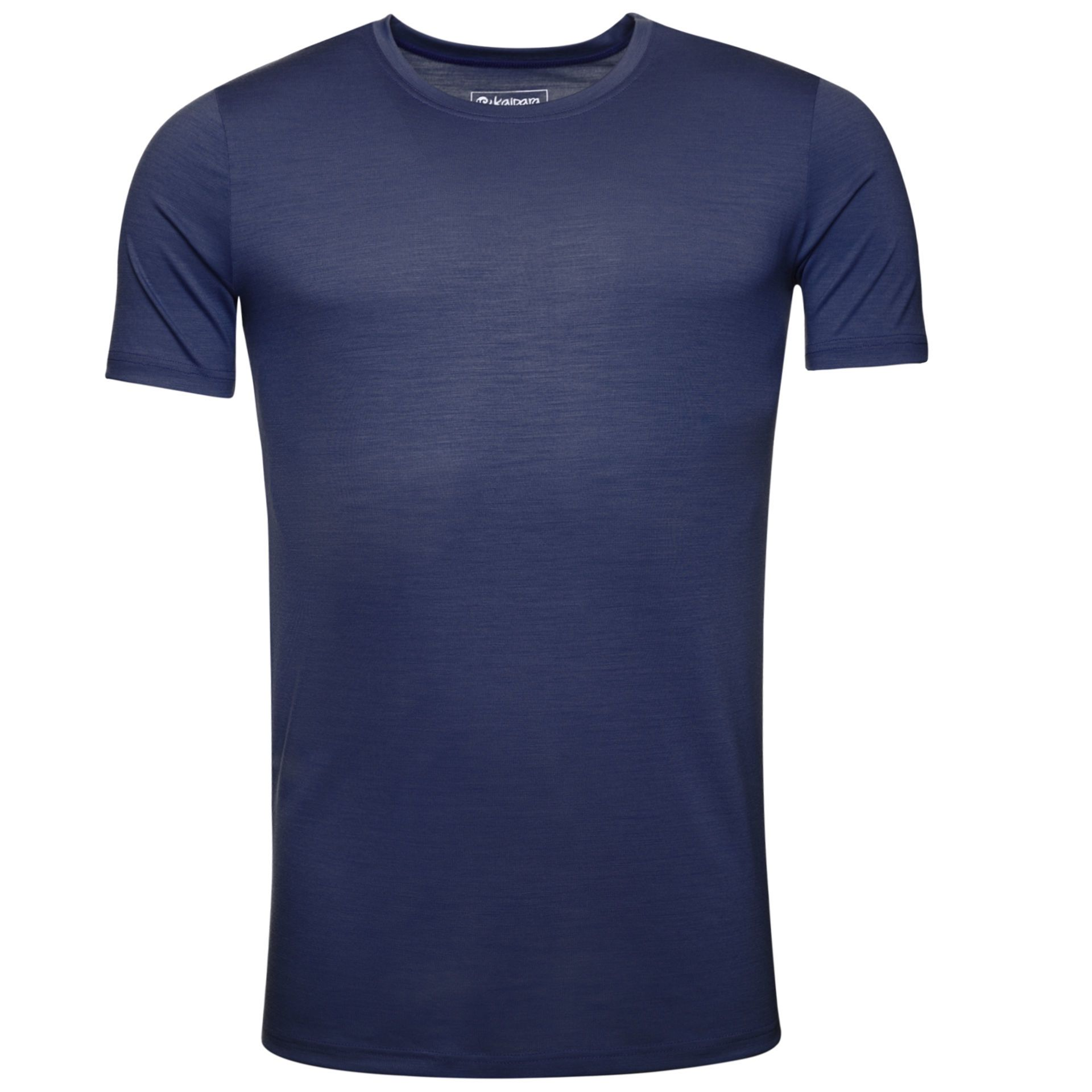 URBAN LIMITED Merino T-Shirt Herren Kurzarm Slimfit 200 Navy / L