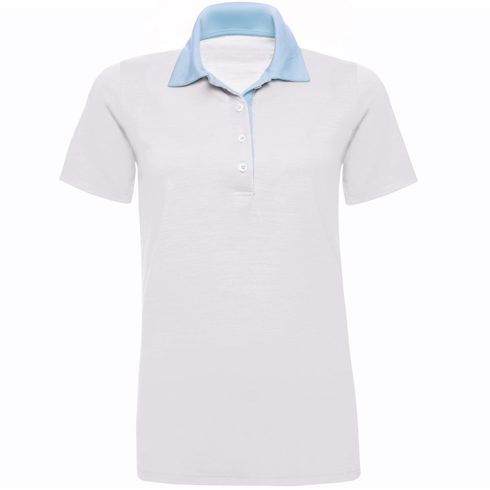 URBAN LIMITED Merino Poloshirt Damen Kurzarm Regular 200 Sand XS