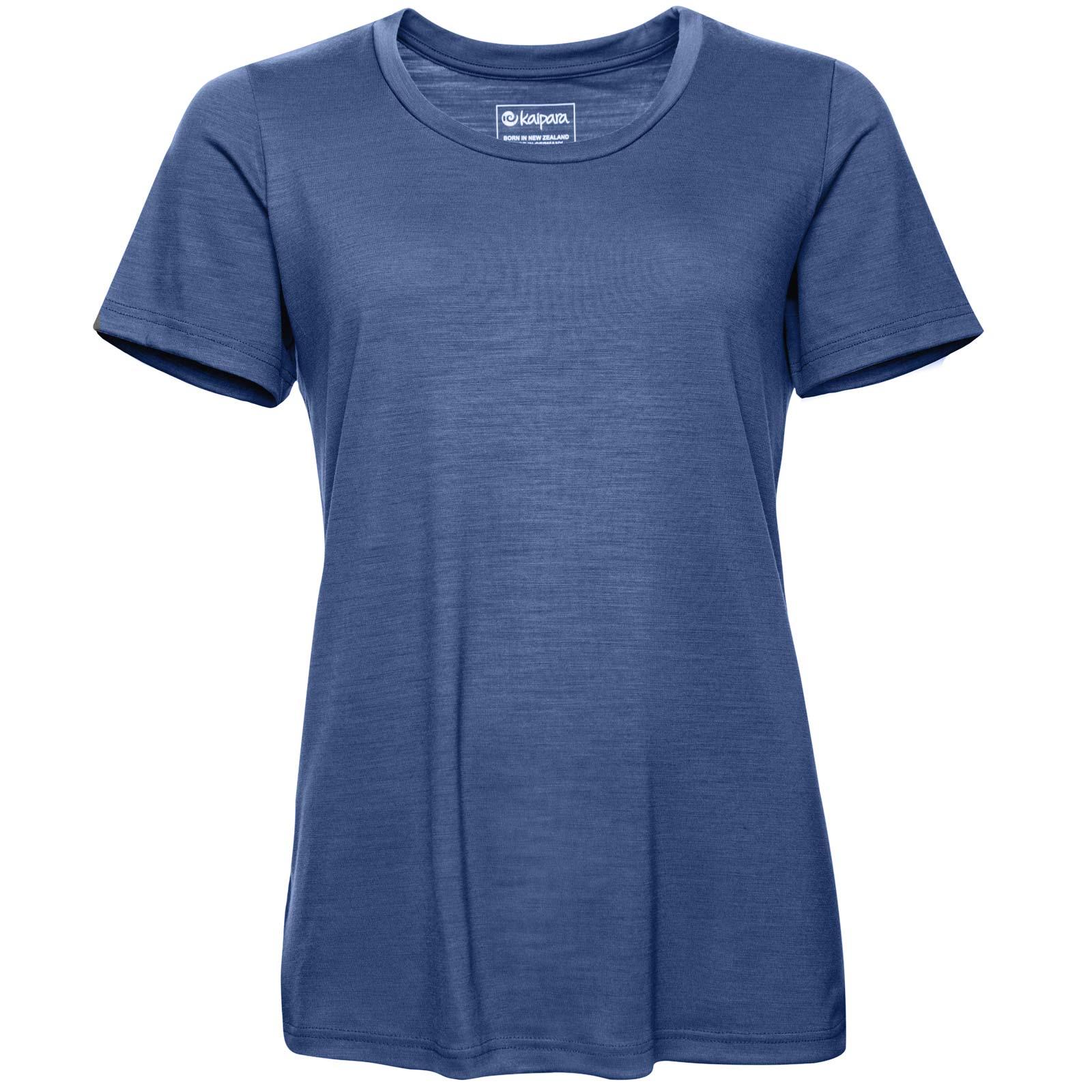 URBAN Merino Shirt Damen Kurzarm Regular 200 weiter Ausschnitt