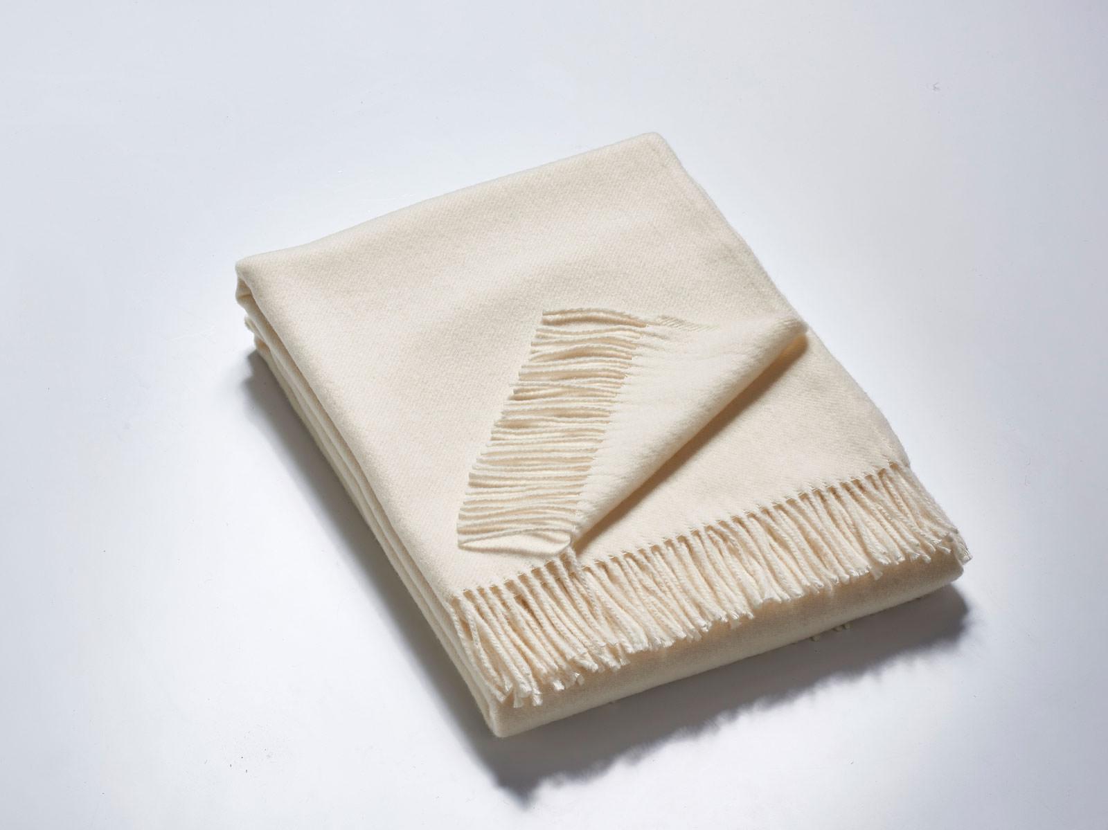Das Plaid – Merino-Decke 140 cm x 190 cm (850 g)