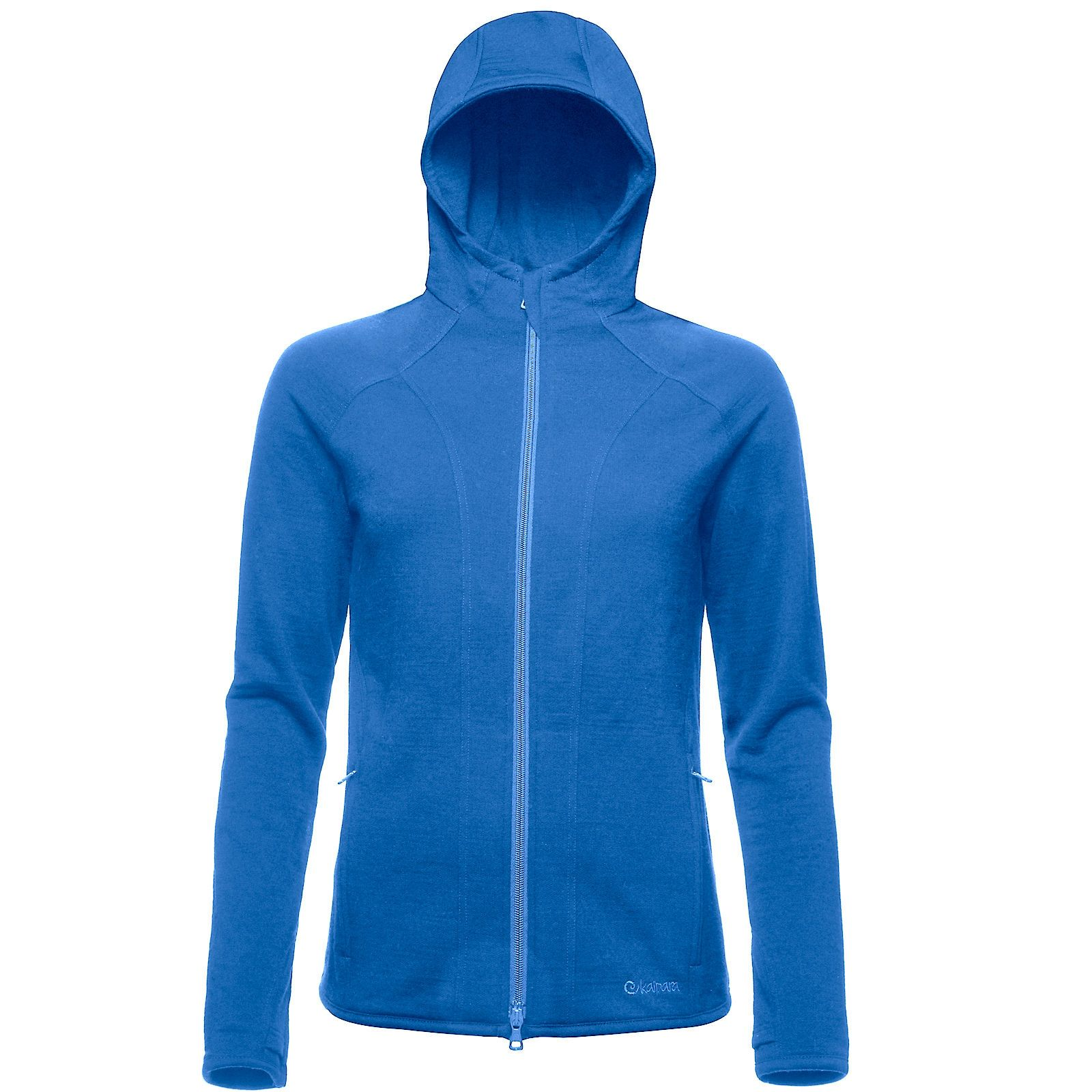Merino Hoody Sweat Jacke Damen 270