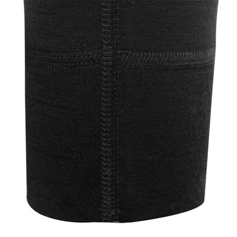 Merino 4/4 Lange Unterhose Herren 200 Schwarz / L